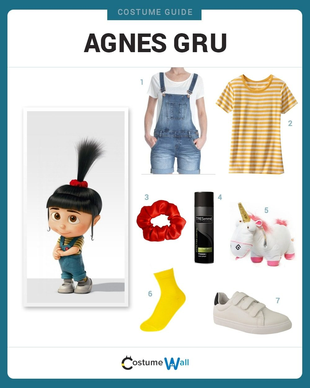 Agnes Gru Costume Guide