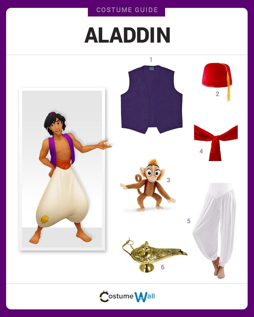 Aladdin Costume Guide
