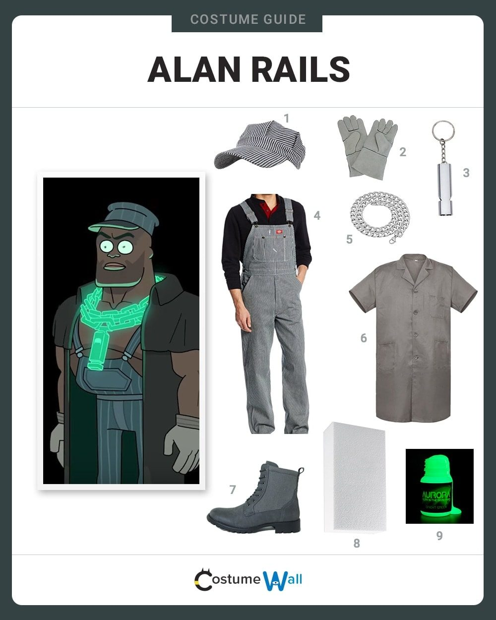 Best Alan Rails Costume Guide  sc 1 st  Costume Wall & Dress Like Alan Rails Costume | Halloween and Cosplay Guides