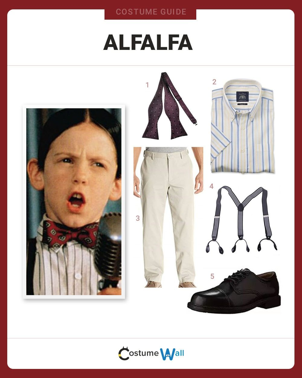 Alfalfa Costume Guide