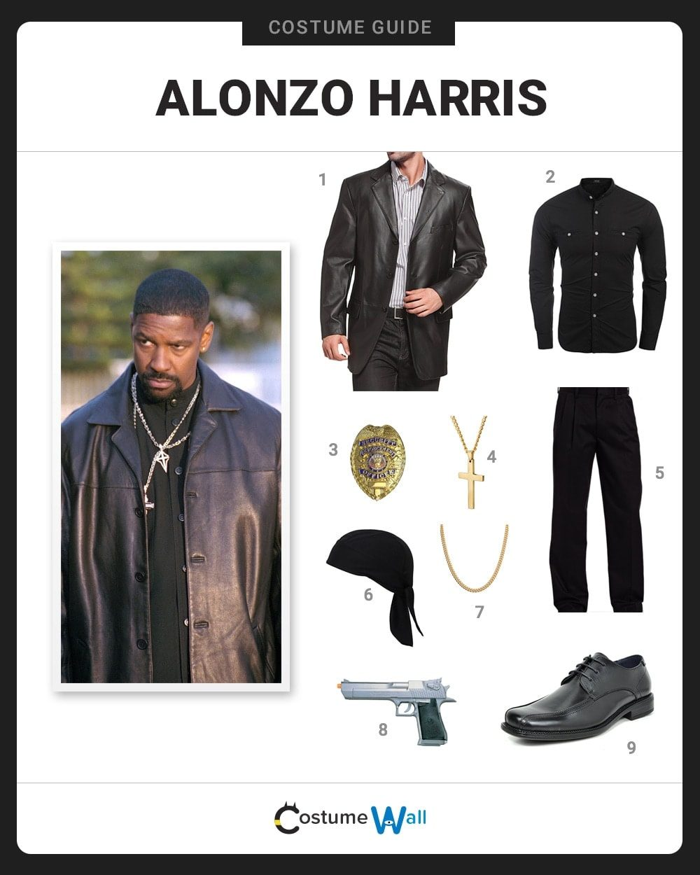 Alonzo Harris Costume