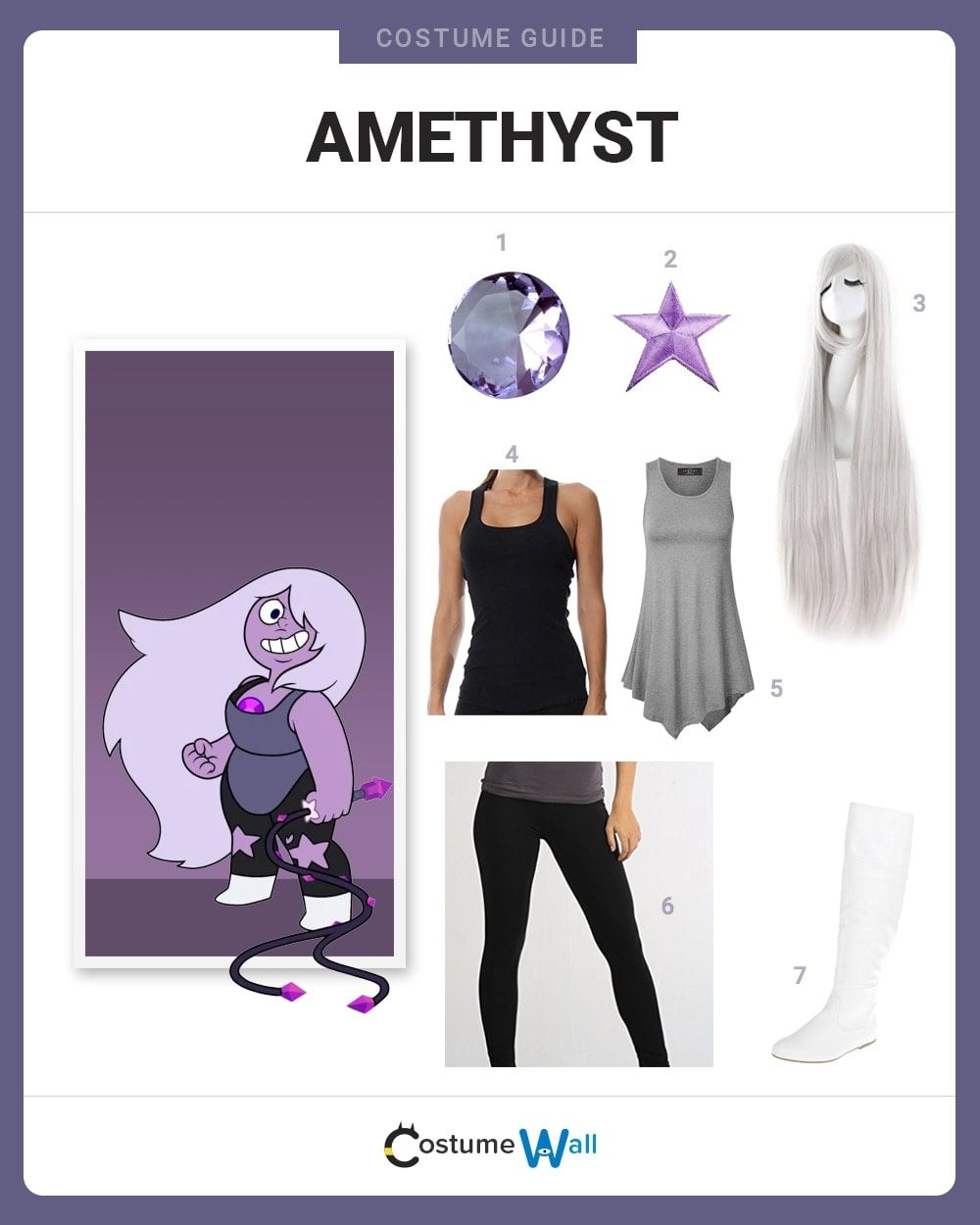 Amethyst Costume Guide