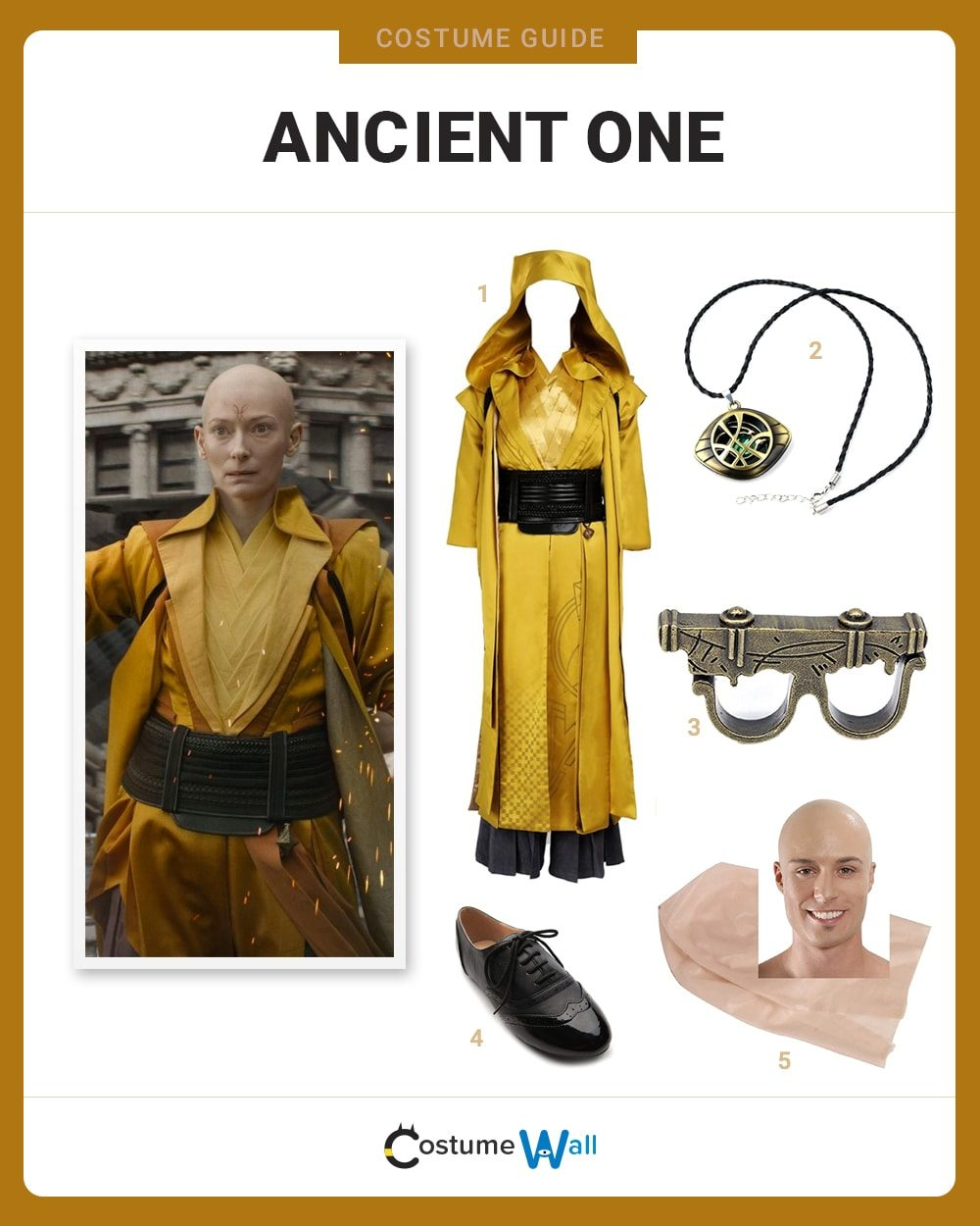 Ancient One Costume Guide