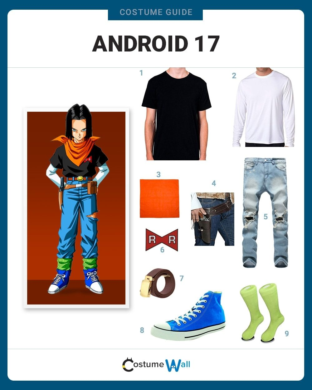 Android 17 Costume