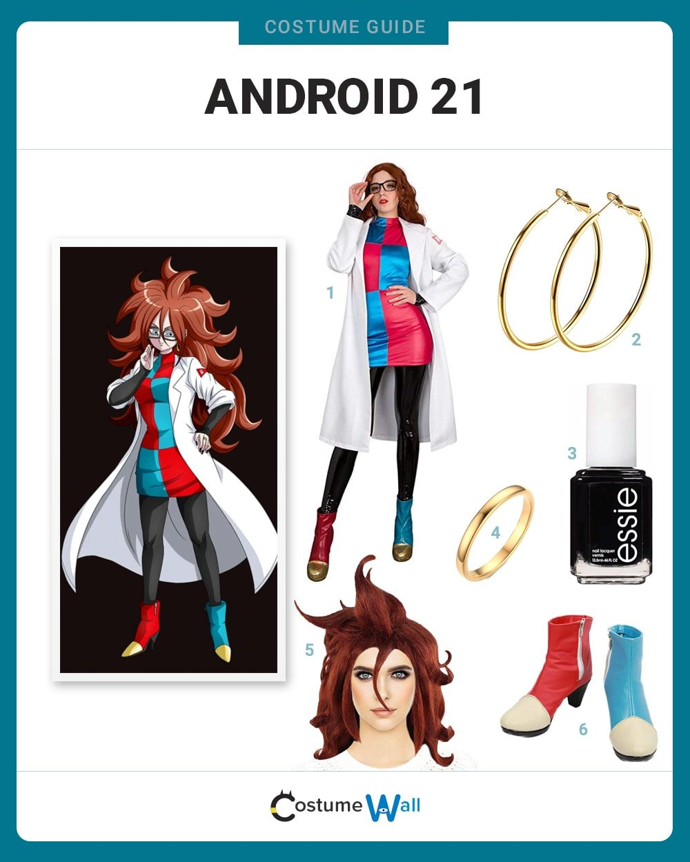 Android 21 Costume Guide