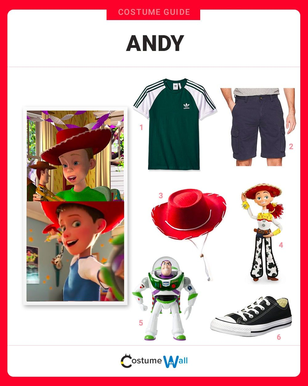 Andy Costume Guide