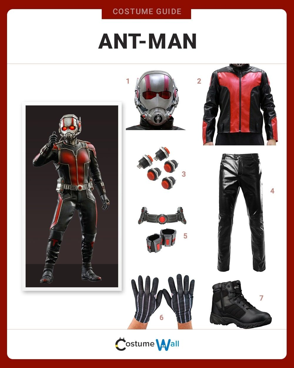 Ant-Man Costume Guide