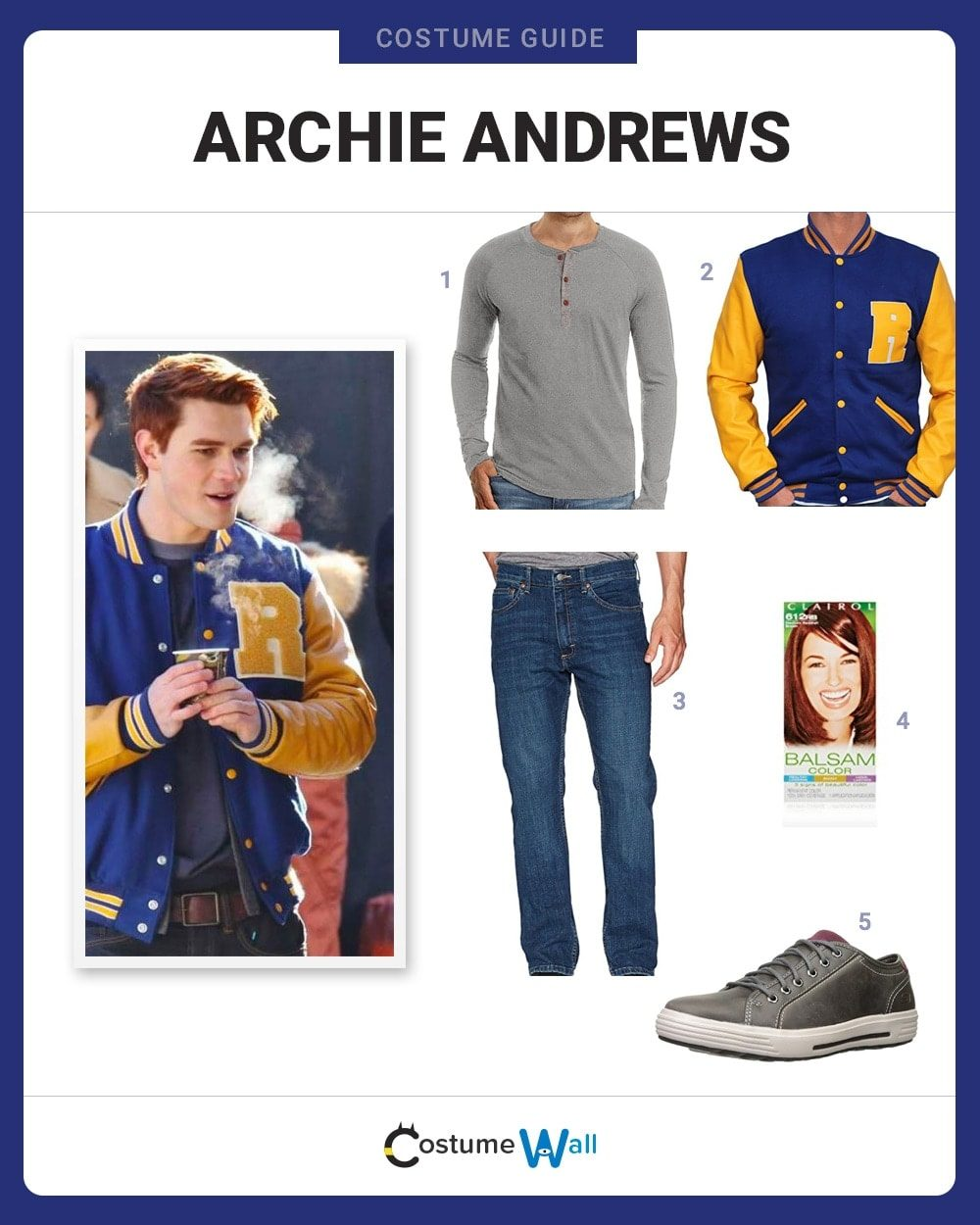 archie andrews costume guide