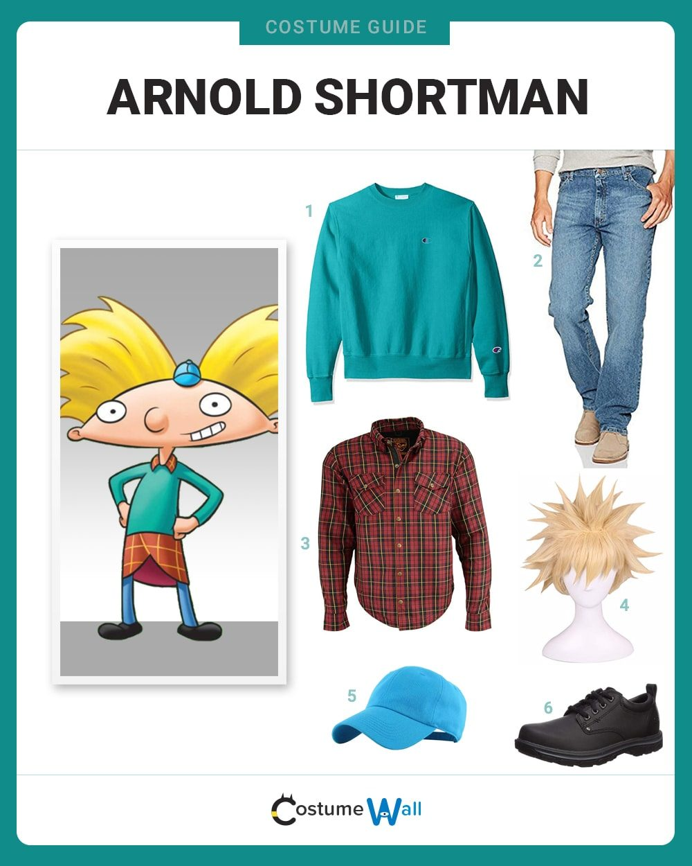 Arnold Shortman Costume Guide
