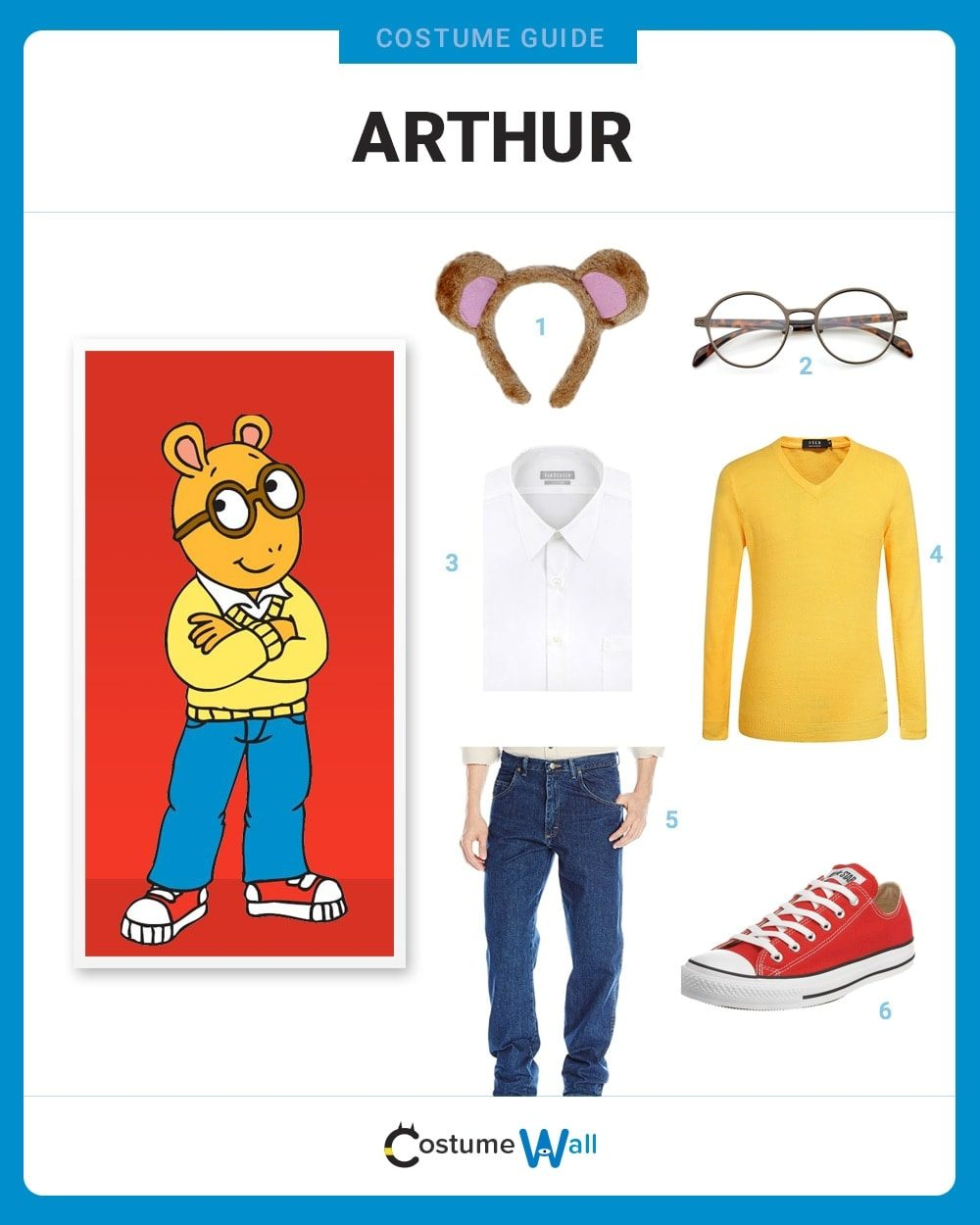 Arthur Costume Guide