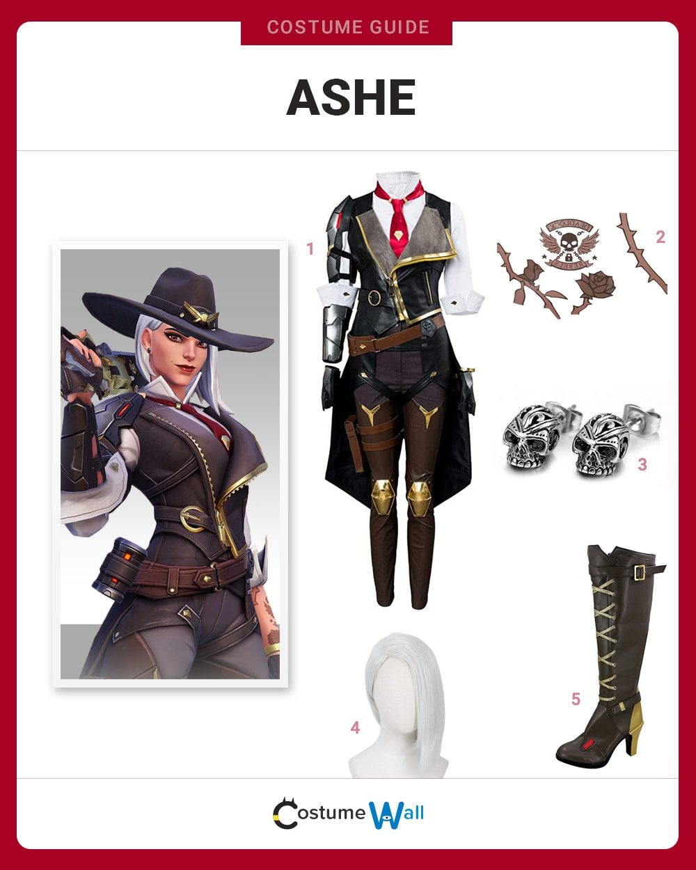 Ashe Costume Guide