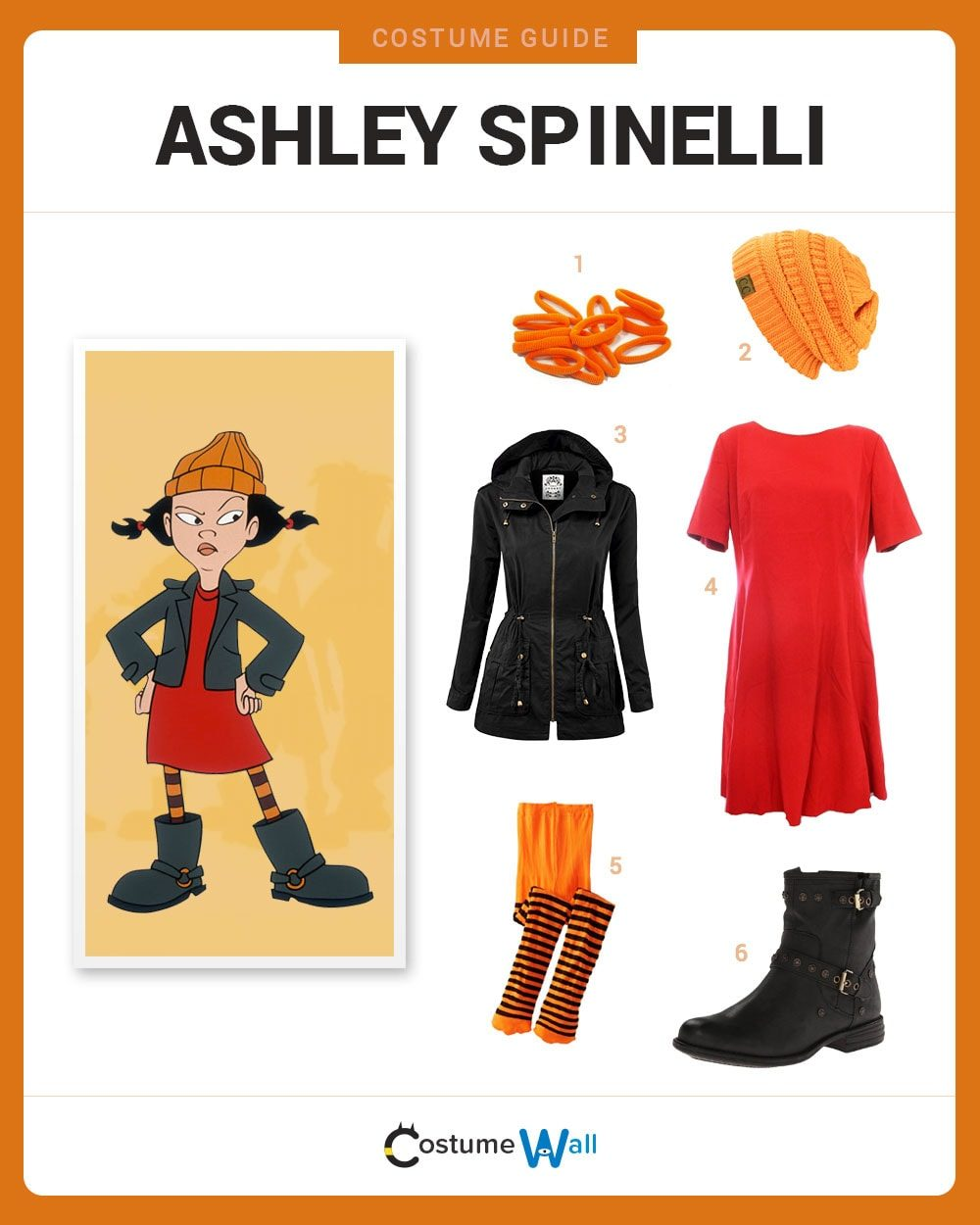 Ashley Spinelli Costume Guide