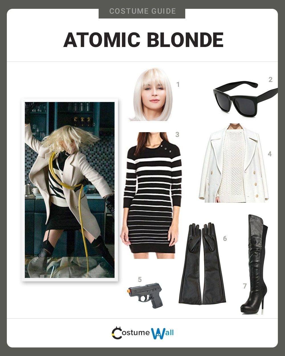 Atomic Blonde Costume Guide