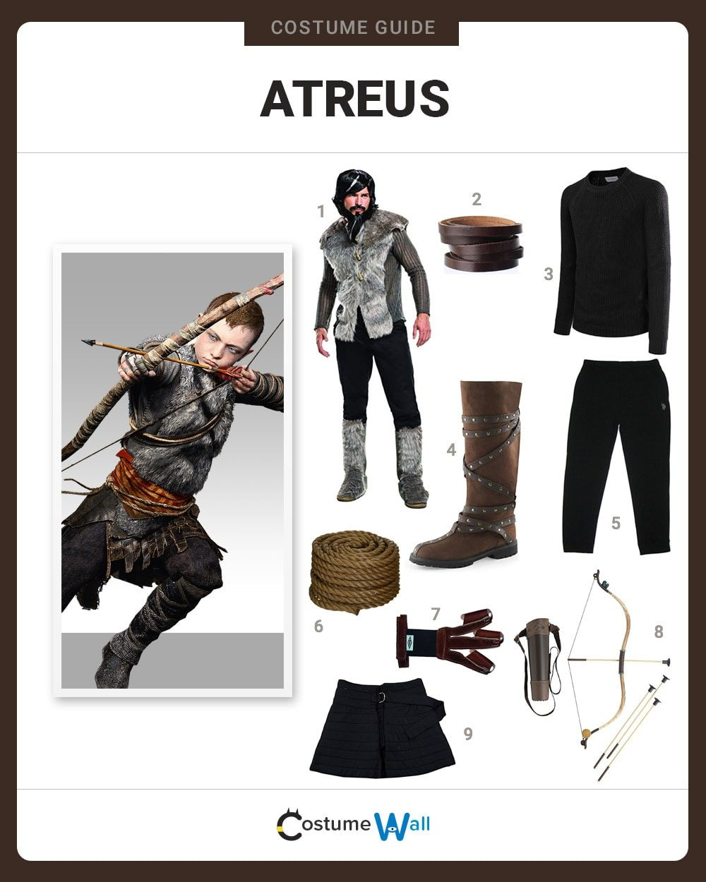 Atreus Costume Guide