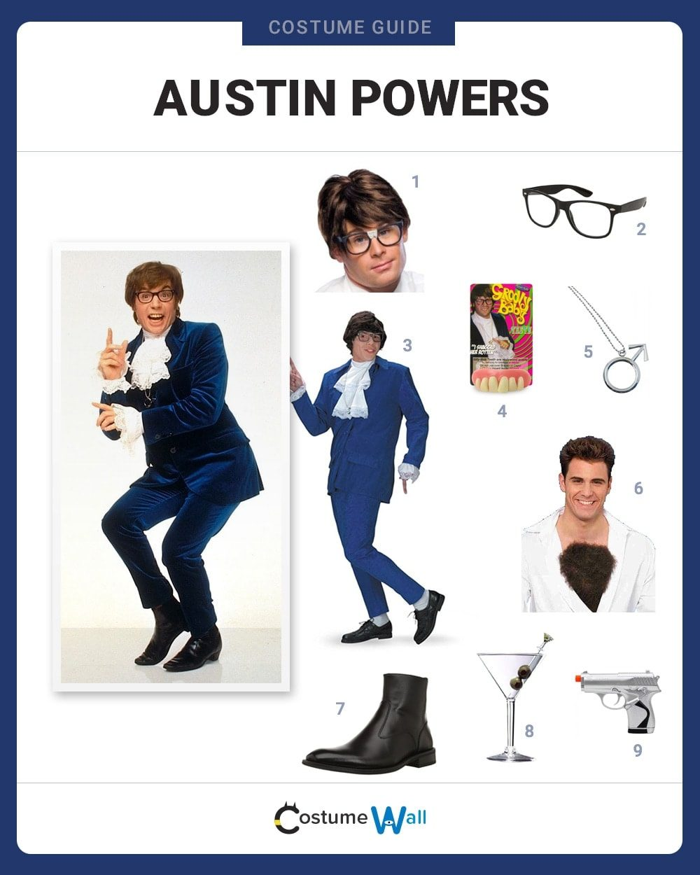 Austin Powers Costume Guide