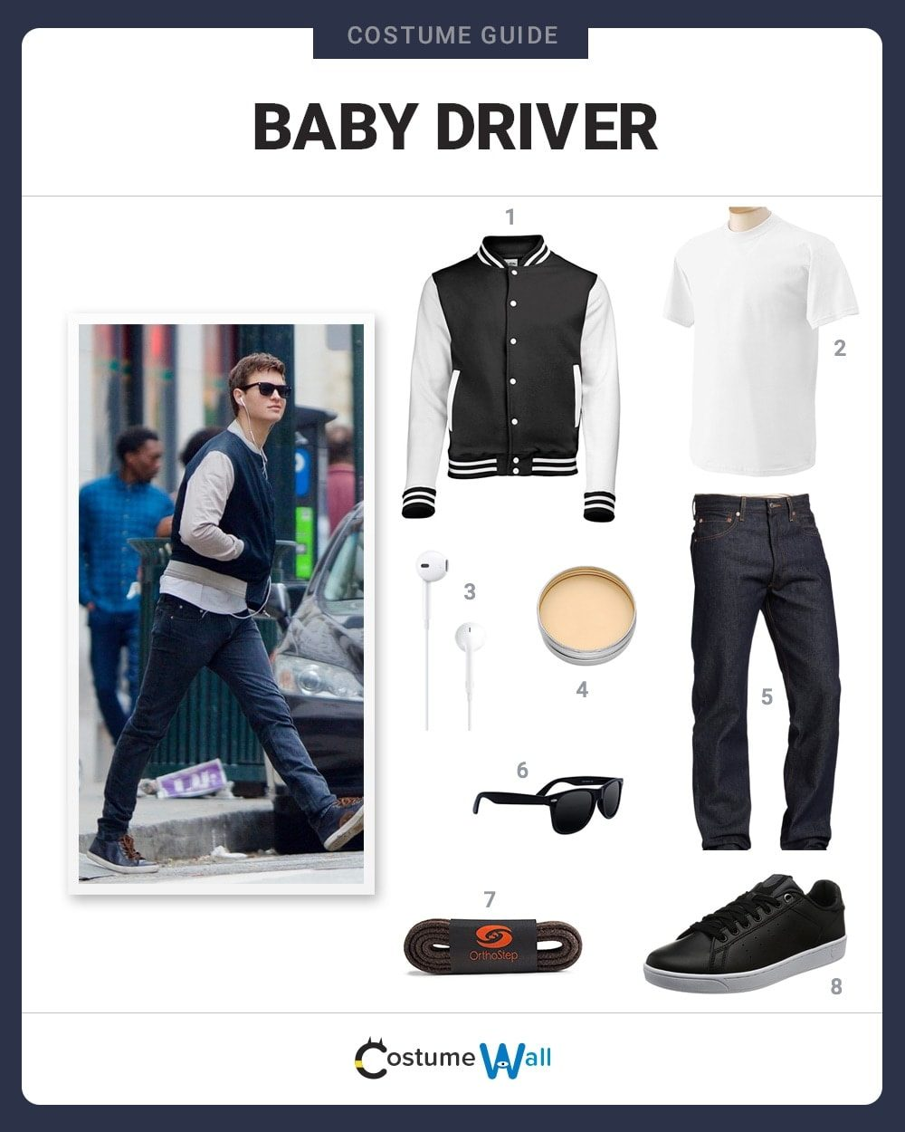 Baby Driver Costume Guide