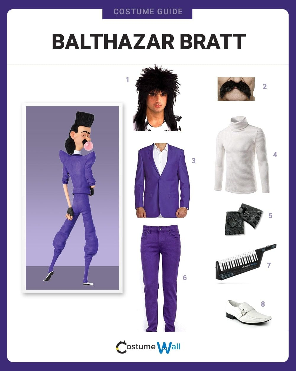 Balthazar Bratt Costume Guide