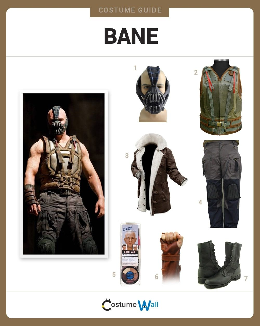 Costume Breakdown & Dress Like Bane Costume | Halloween and Cosplay Guides