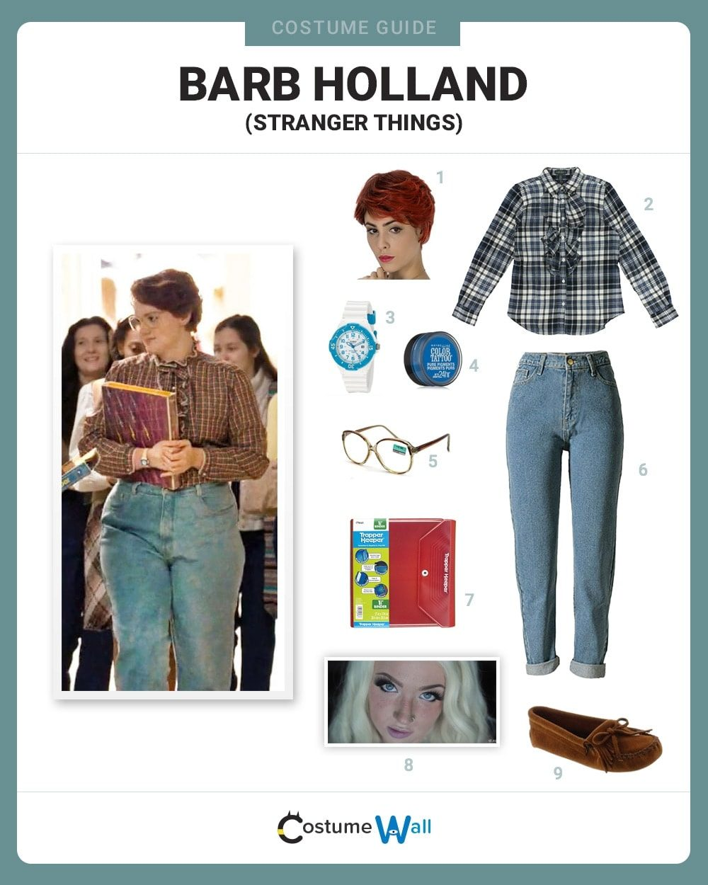 Barb Holland Costume Guide