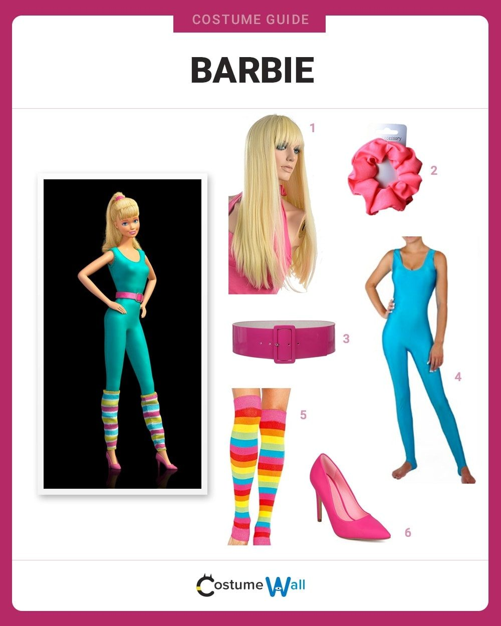 Costume Breakdown  sc 1 st  Costume Wall & Dress Like Barbie Costume | Halloween and Cosplay Guides