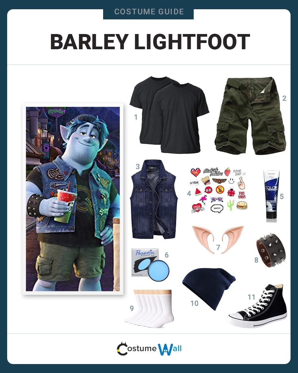 Barley Lightfoot Costume Guide