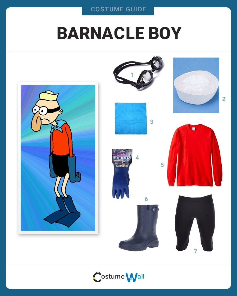 Barnacle Boy Costume Guide