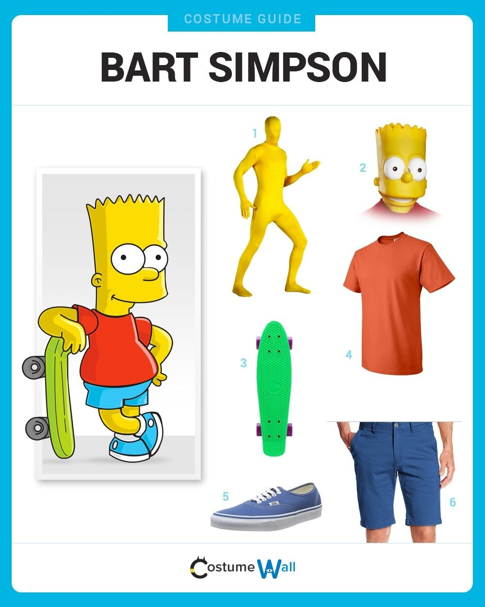 Bart Simpson Costume Guide