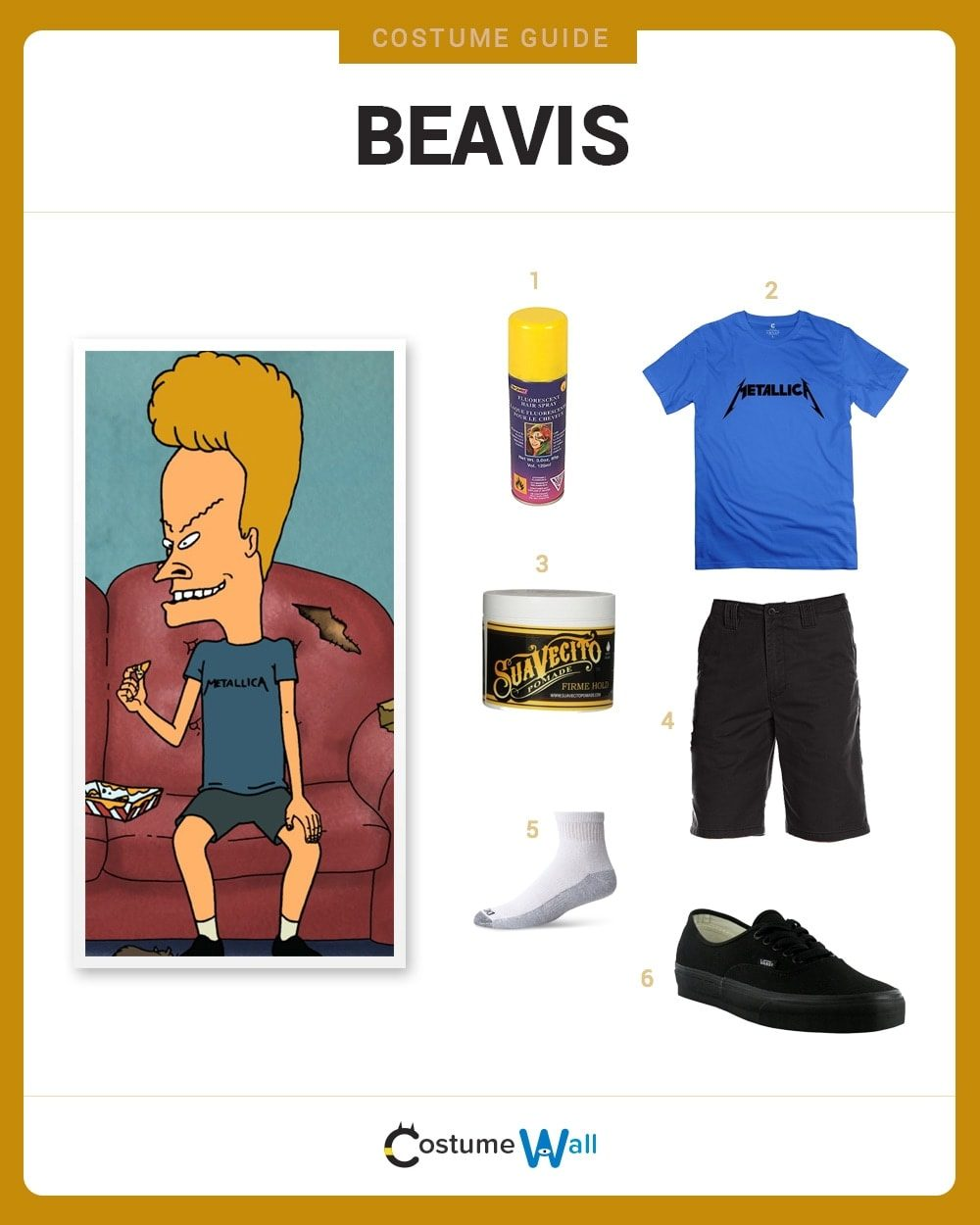 dress like beavis costume | halloween and cosplay guides