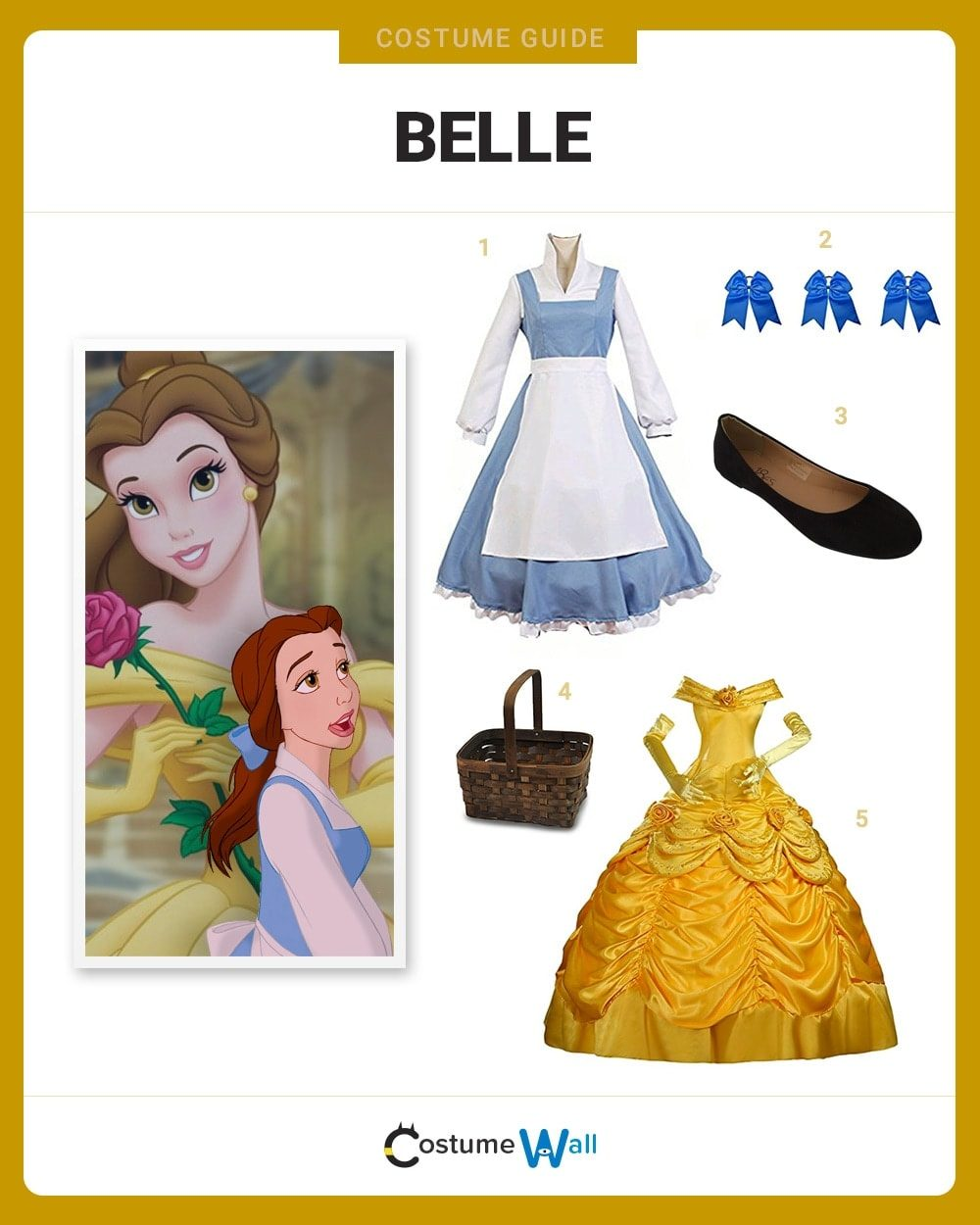 Belle Costume Guide