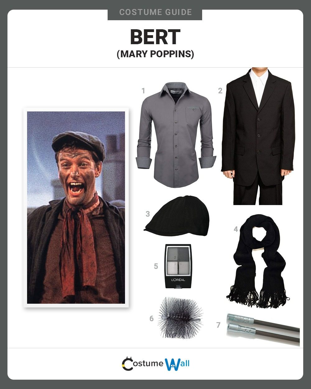 Bert (Mary Poppins) Costume Guide