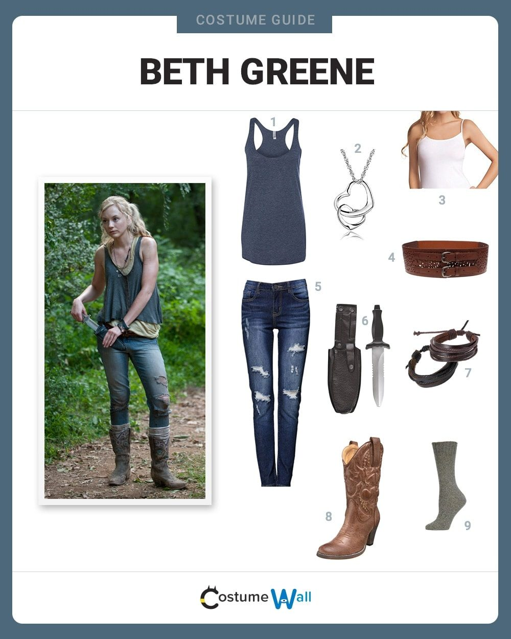 Beth Greene Costume Guide
