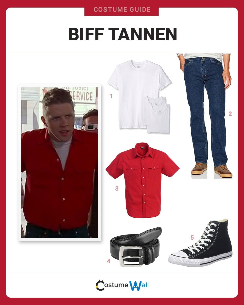 Biff Tannen Costume Guide