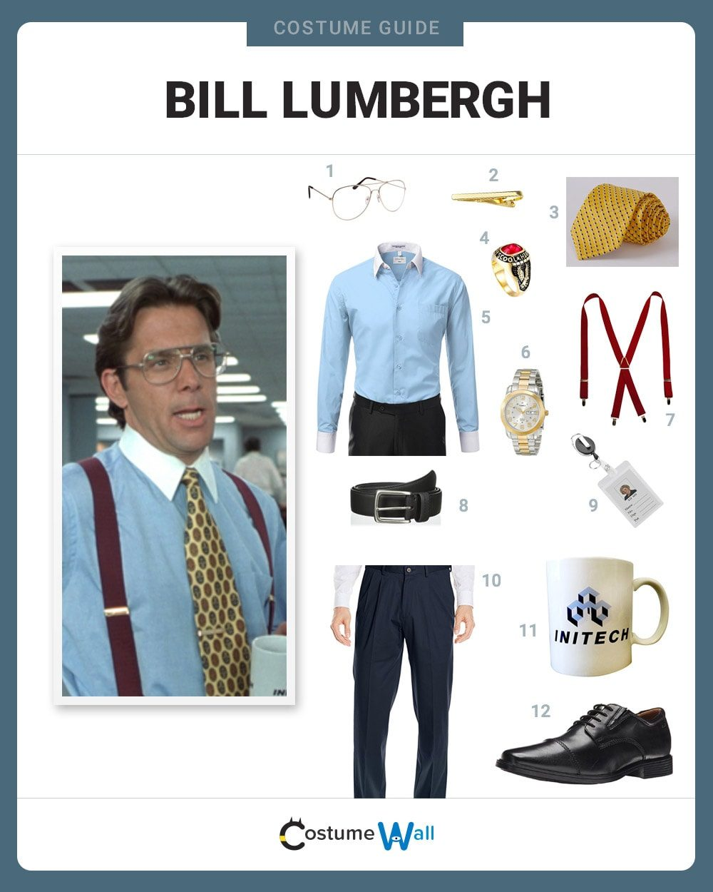 0c886c180 Dress Like Bill Lumbergh Costume | Halloween and Cosplay Guides