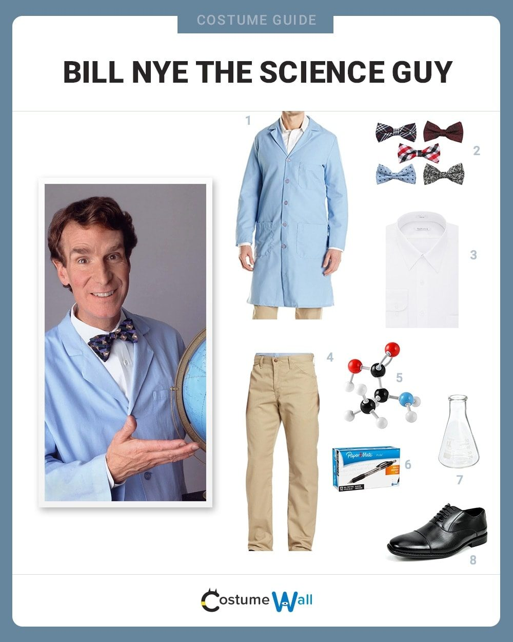 Bill Nye the Science Guy Costume Guide