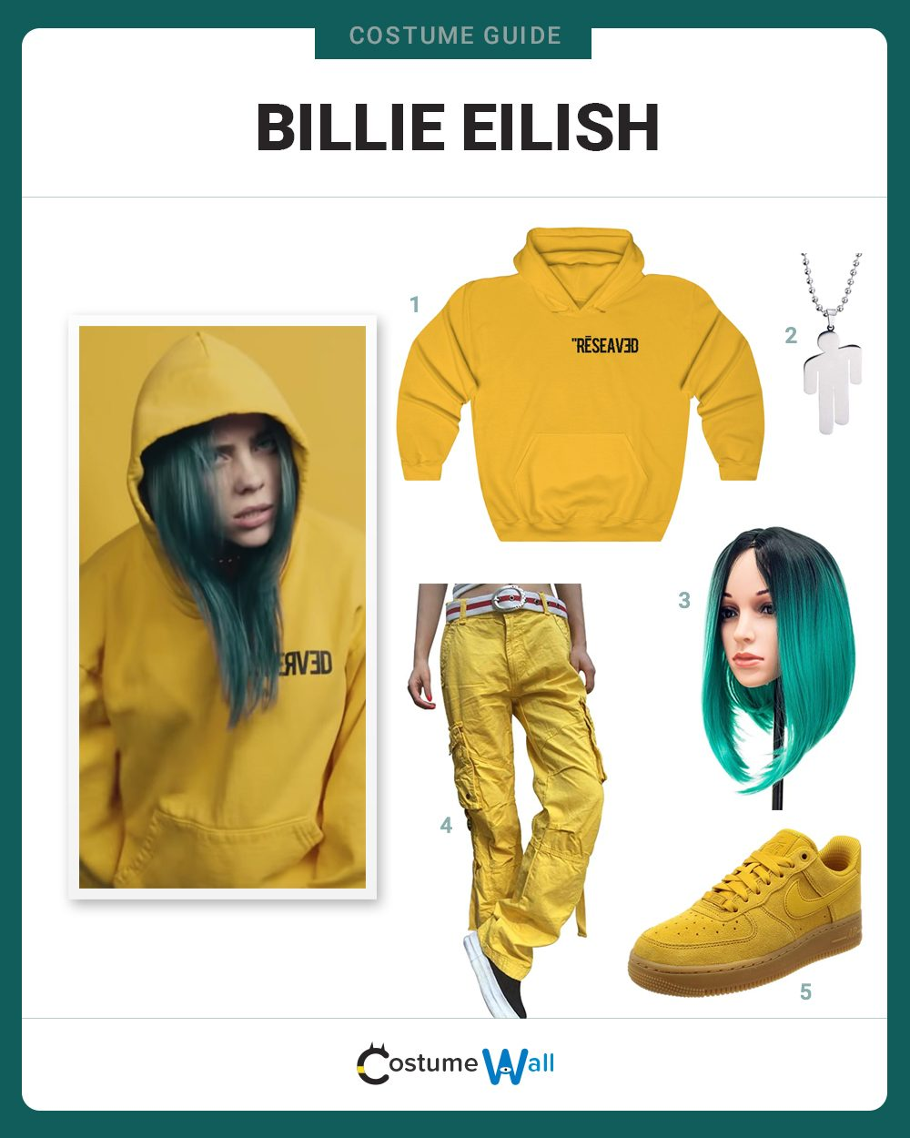 Billie Eilish  Costume Guide