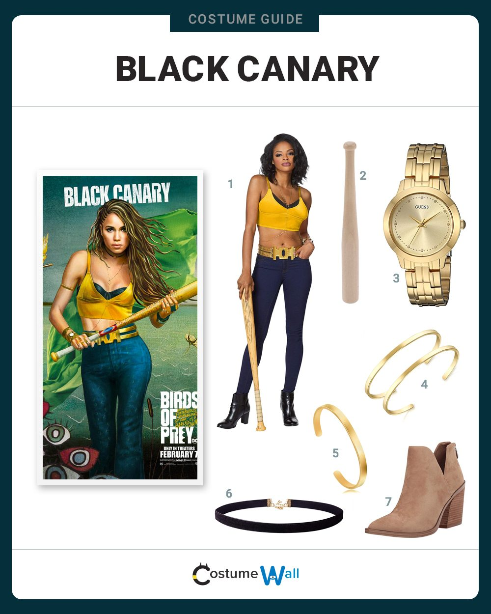 Black Canary Costume Guide