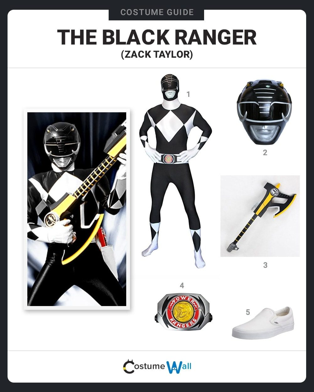 Black Ranger Costume Guide