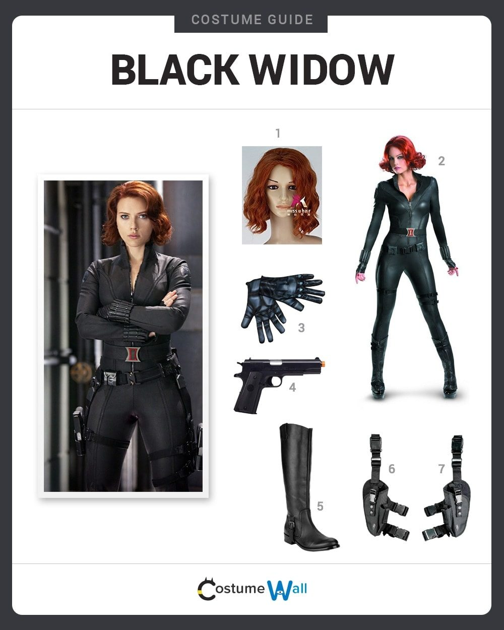 Dress Like Black Widow Costume Halloween And Cosplay Guides