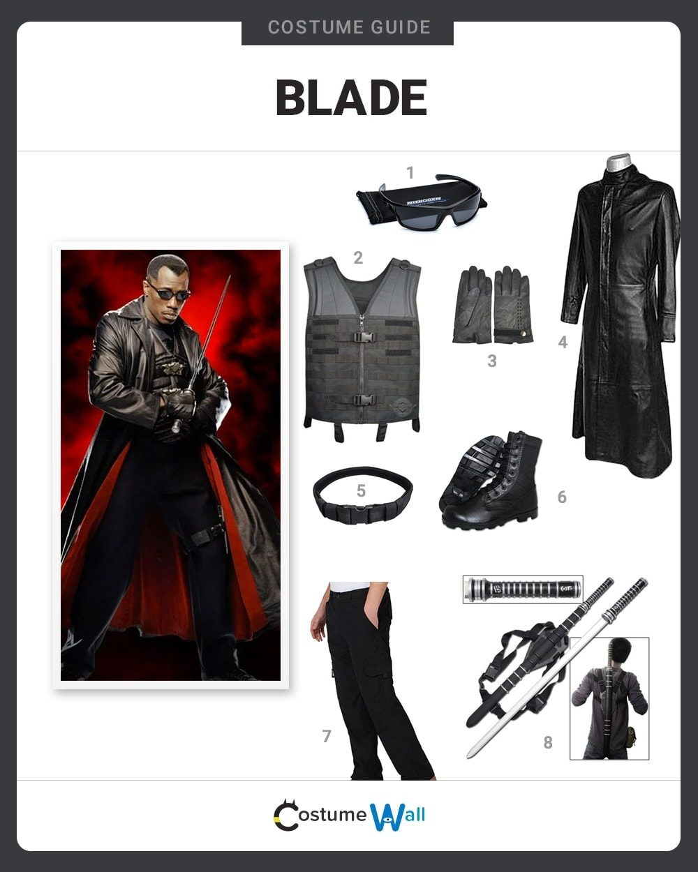 Blade Costume Guide