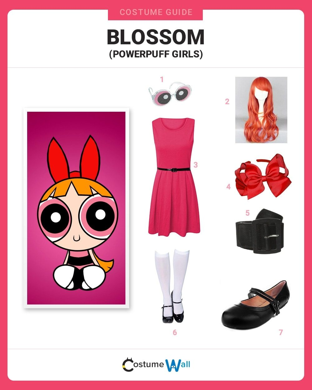 Pink Powerpuff Girl Costume