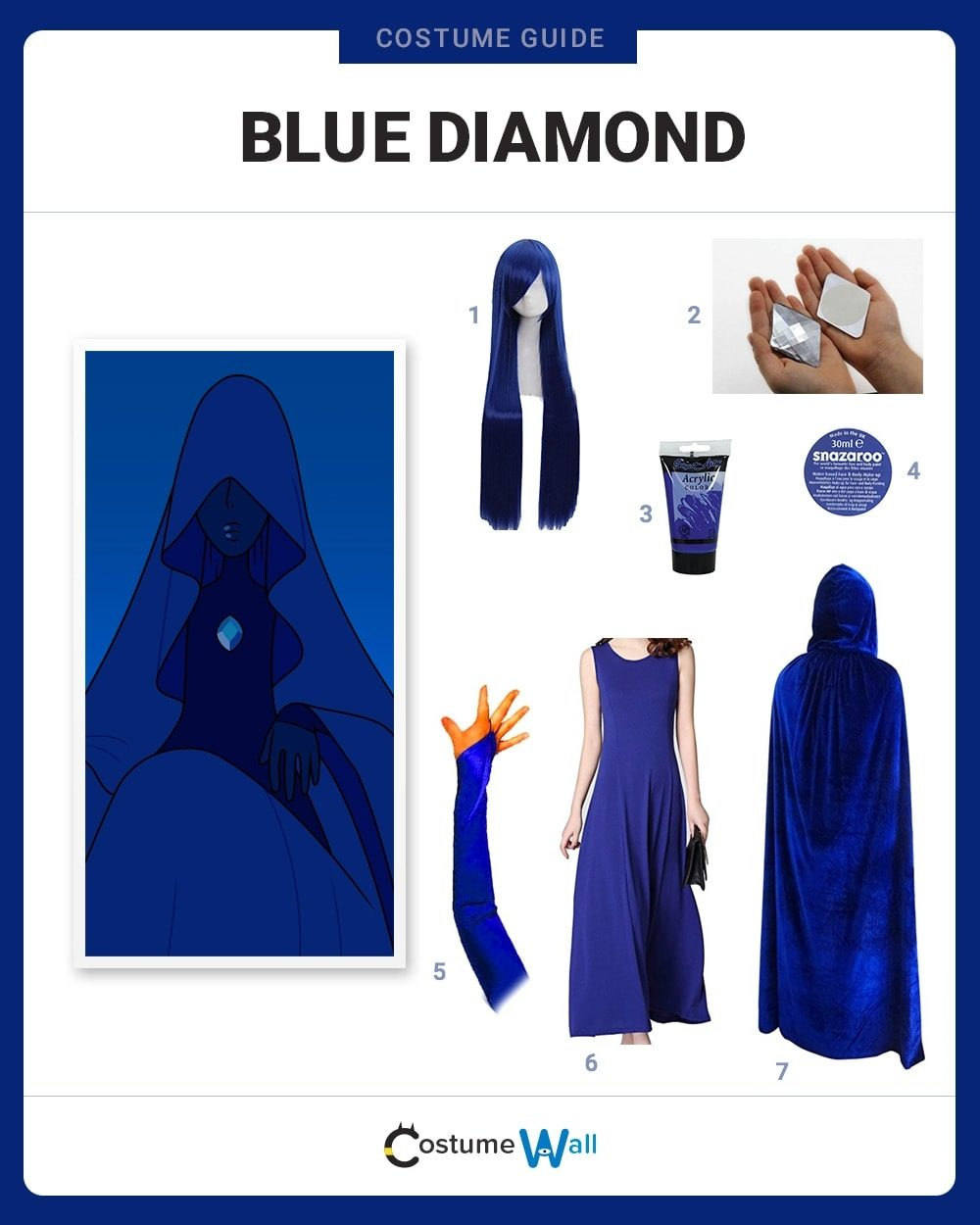 Blue Diamond Costume Guide