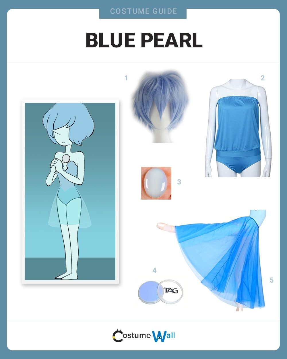 Blue Pearl Steven Universe Cosplay - Hq Photo Porno-6149