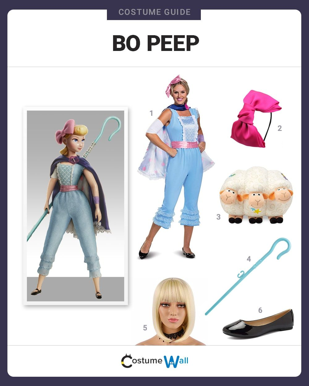 Bo Peep Costume Guide