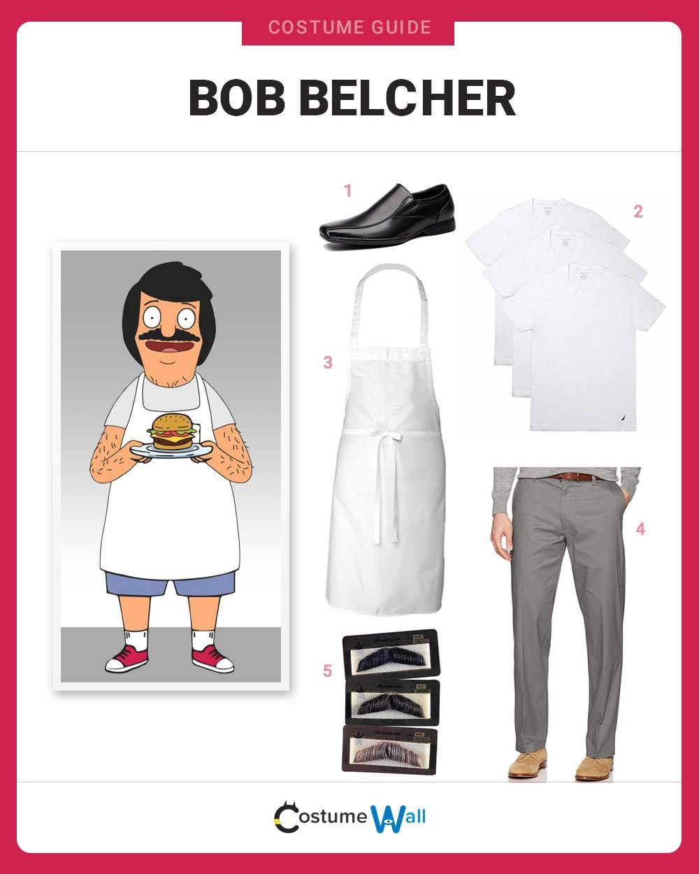 Bob Belcher Costume Guide