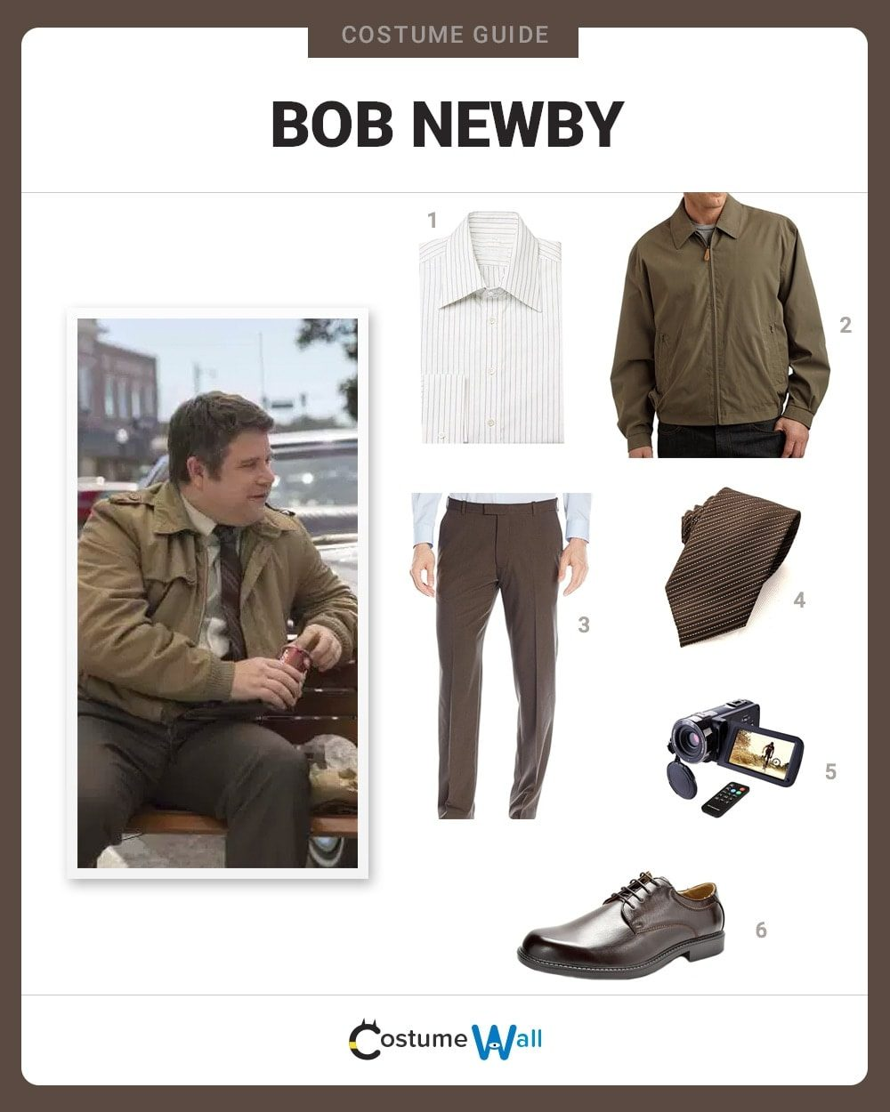 Bob Newby Costume Guide