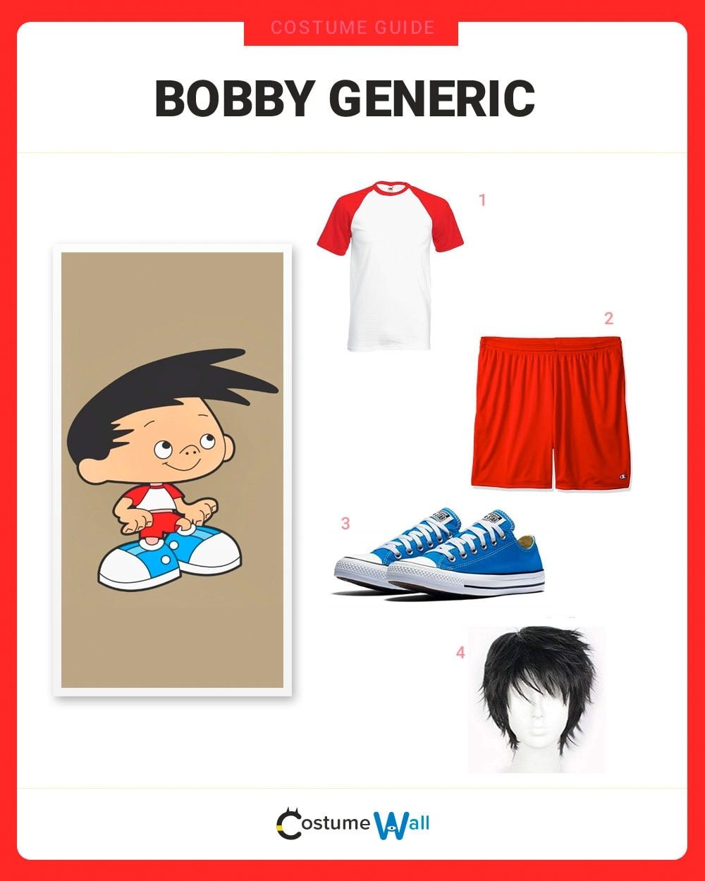Bobby Generic Costume Guide