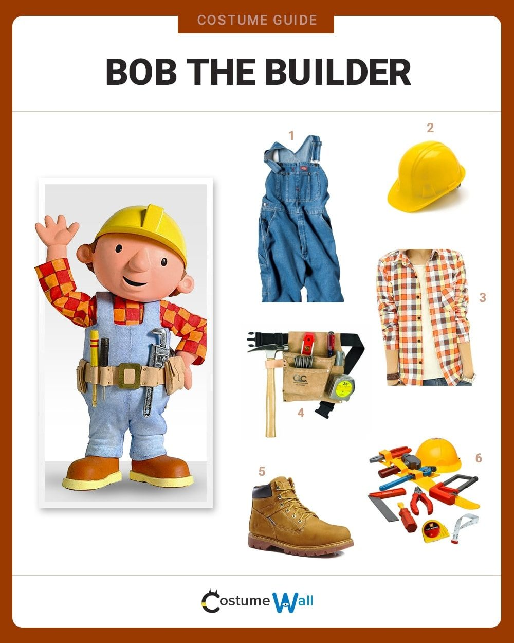 Costume Breakdown  sc 1 st  Costume Wall & Bob the Builder Costume | Halloween and Cosplay Guides