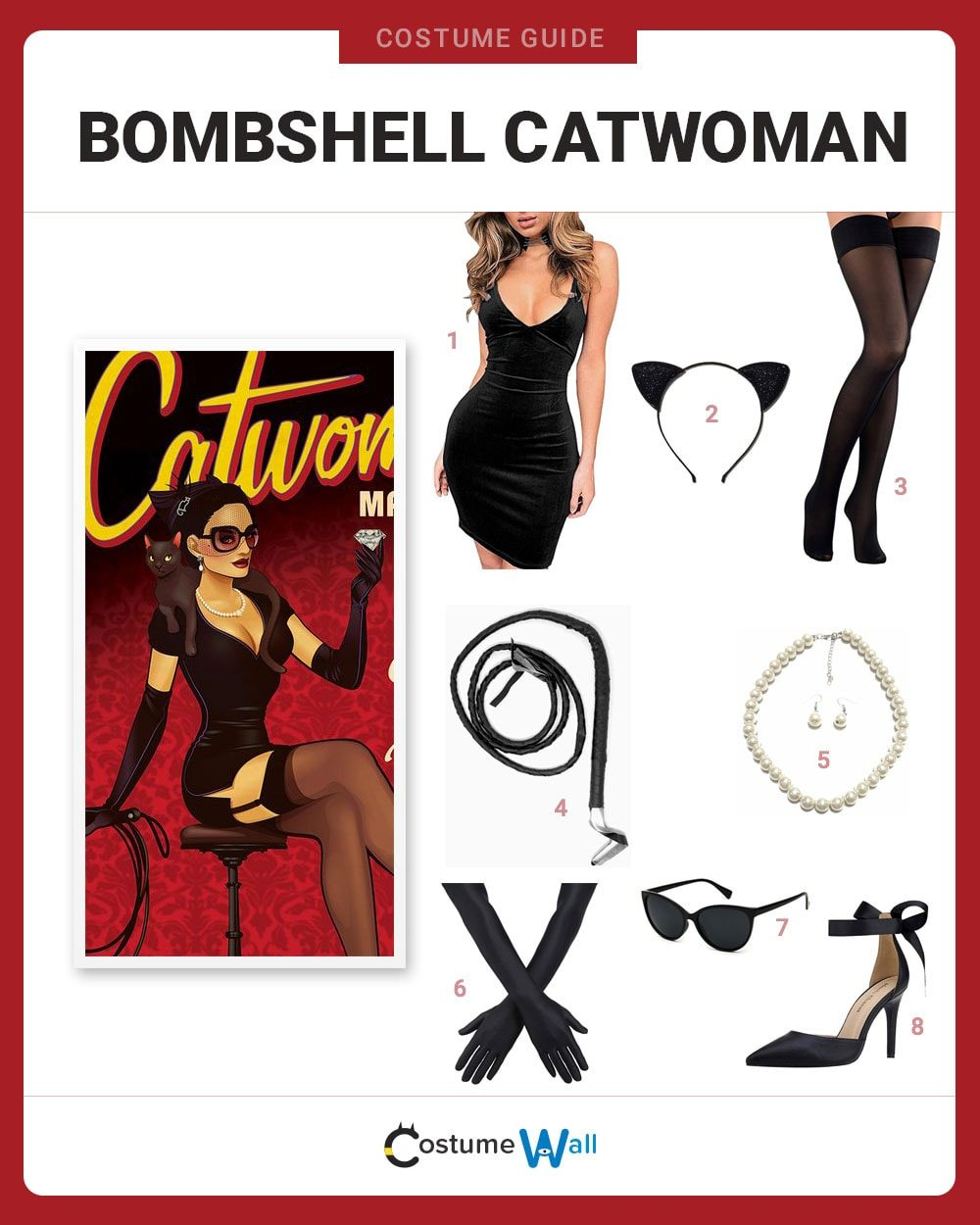 Bombshell Catwoman Costume Guide