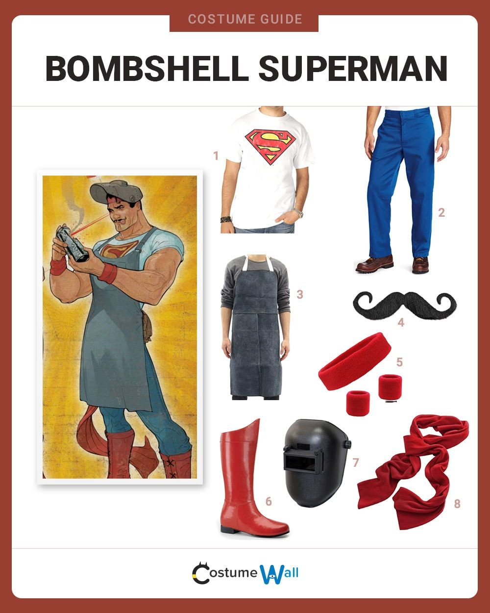 Bombshell Superman Costume Guide