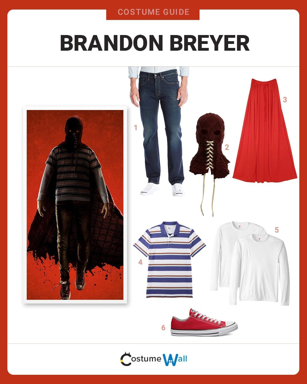 Brandon Breyer  Costume Guide
